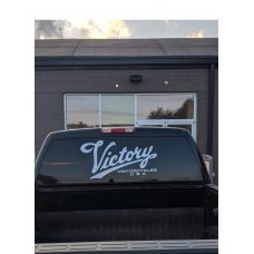 """Victory Motorcycle Rear Window Decal 16""""x32"""""""